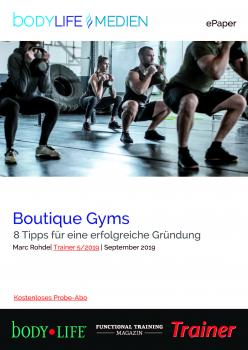 Boutique Gyms - ePaper