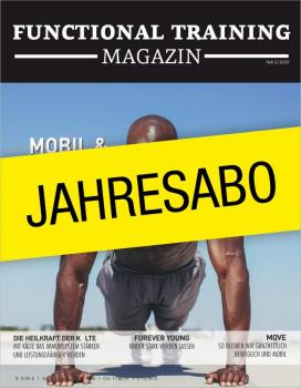 BLACKROLL Aktion: Functional Training Magazin - Jahresabo - Deutschland